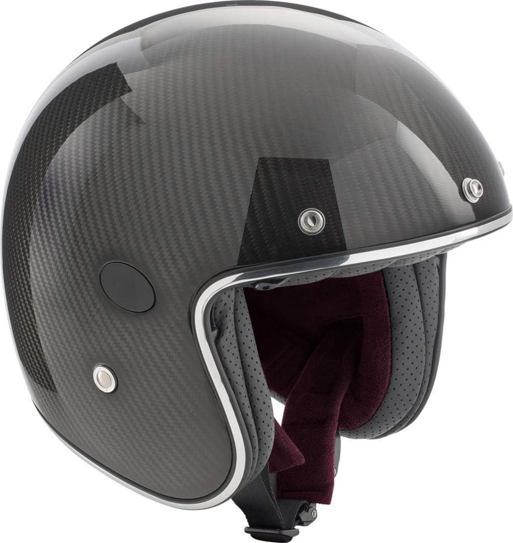 Rocc Classic Carbon Jet Helmet L Carbon Auto
