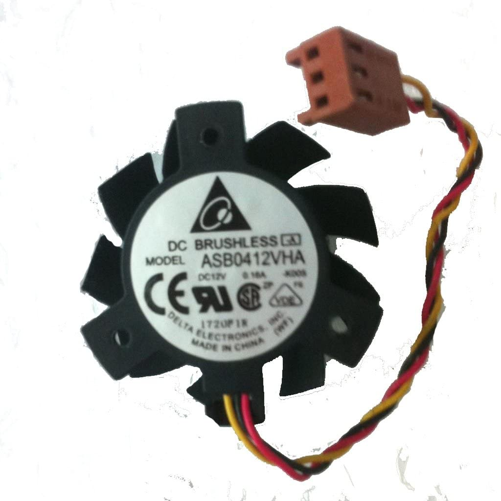Replacement Video Card Cooling Fan For 105-5218CX 105-5138CX GPU Cooling Fan ASB0412VHA 12V 0.16A 3 Pin