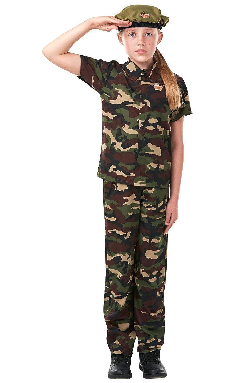Rubies s - Disfraz de oficial soldado Niños Pequeños: Amazon.es ...