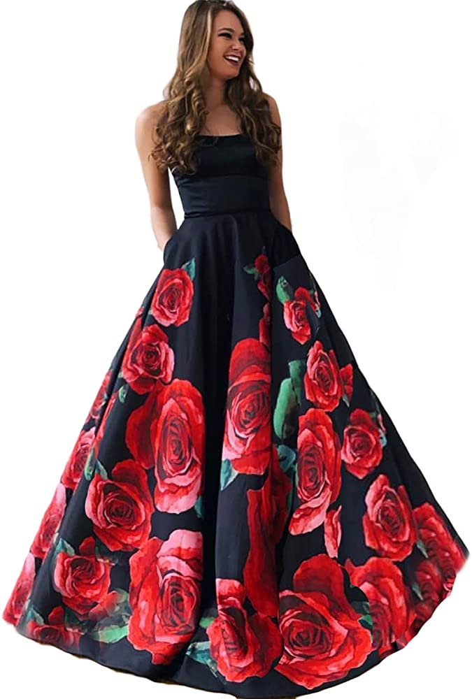 DarlingU Womens Off Shoulder Long Bridesmaid Dresses Pockets Formal Evening Gown