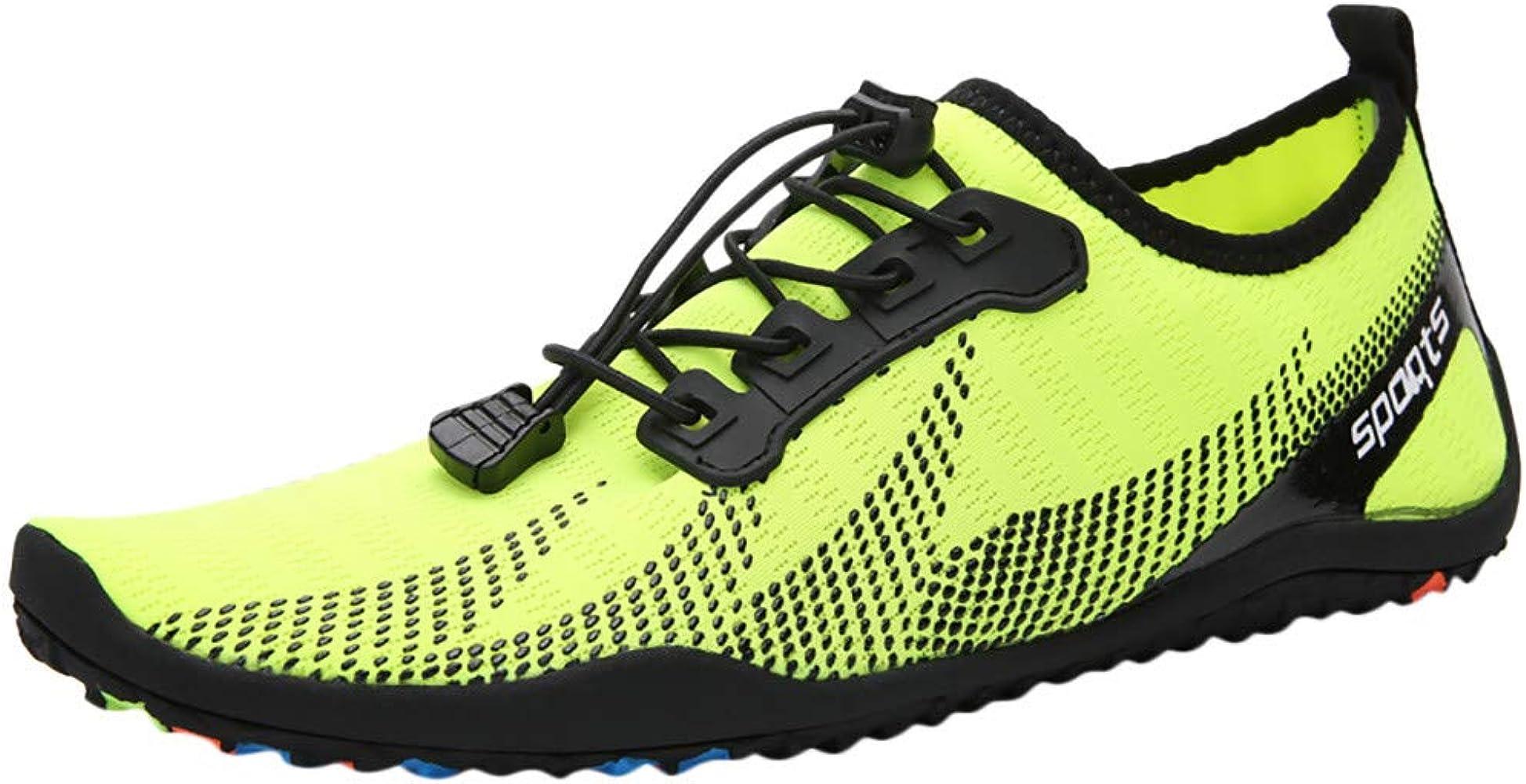 Routinfly Zapatillas De Playa Al Aire Libre para Hombres Y Mujeres, Zapatos De NatacióN De Agua Adultos Pareja Plana Suave Transpirable Mar Femenino Vadear Zapato: Amazon.es: Deportes y aire libre