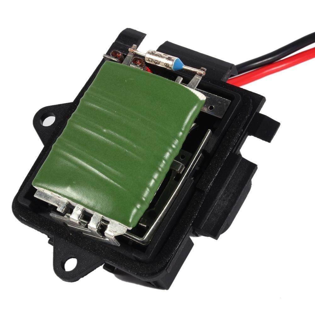 1 PC de resistencia del motor del ventilador del calentador para Renault Trafic Vauxhall Vivaro 7701050325. Resistencia del motor del ventilador