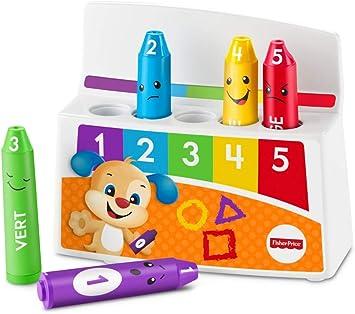 frais frais qualité authentique grossiste Fisher-Price Les Crayons émotifs jouet pour apprendre à bébé les émotions,  les couleurs et les chiffres, avec chansons et phrases, 18 mois et plus, ...
