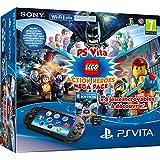 PlayStation Vita - Consola + Megapack Lego Heroes+ 8 GB Memory Card