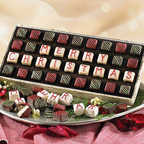 Merry Christmas Petits Fours - Cakes Christmas