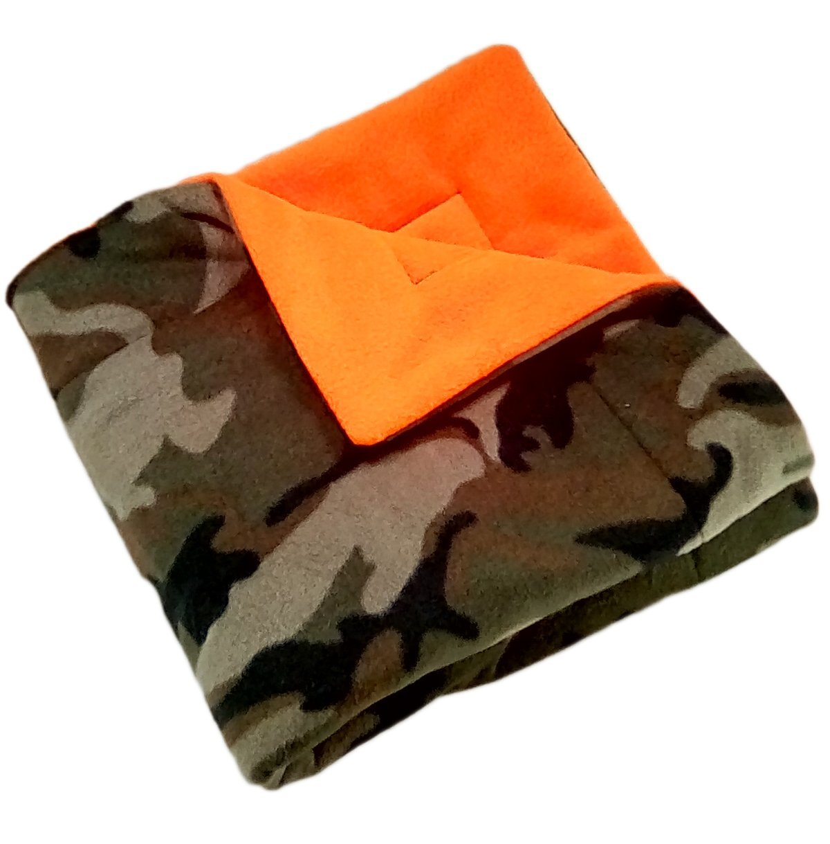 Small Camo Pet Blanket or play mat 25'' x 25''