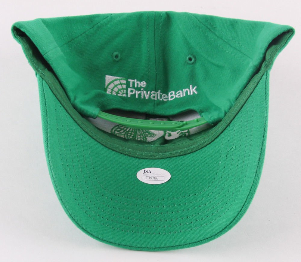 Patrick Kane Autographed Signed Blachawks Snapback St. Patricks Day Edition Hat JSA Certified