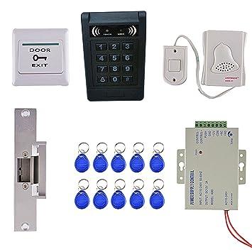 Gazechimp Accesorios de Control de Acceso Altamente Seguros Incluyendo Tecla de Salida de Manija de Puerta
