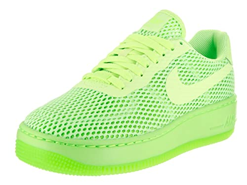 quality design df4c3 51418 Nike Women s Air Force 1 Low Upstep Br Ghost Green Ankle-High Mesh  Basketball
