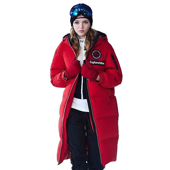 Amazon.com: BOSIDENG - Chaqueta de invierno con capucha para ...