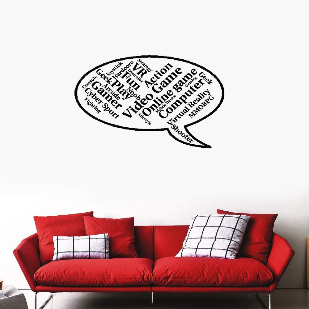 pegatinas de pared fluorescentes Videojuegos Speech Onlinchese ...