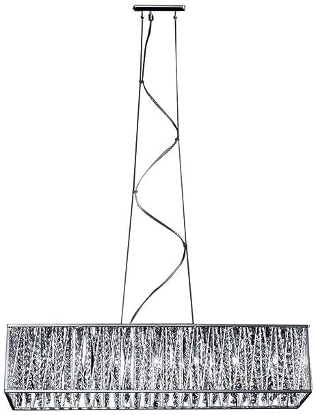 Amazon.com: Z-Lite 872 – 34 Terra 7 lámpara de araña con ...