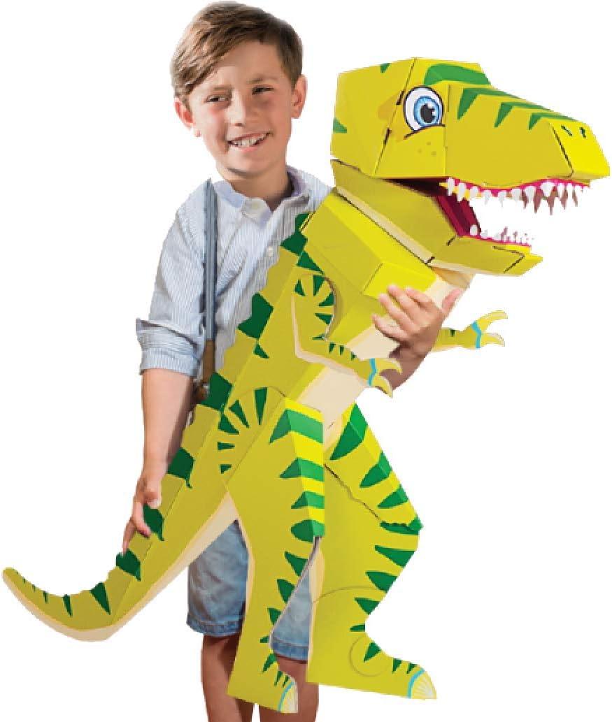 brevet/ée SCHULT/ÜTE/ /100/cm/ /Pouvoir SCHULT/ÜTE/ /Dinosaure T Rex Tyrannosaure Rex/ /Dino verte/ /La Petite courbure/ /Dino schulrex/
