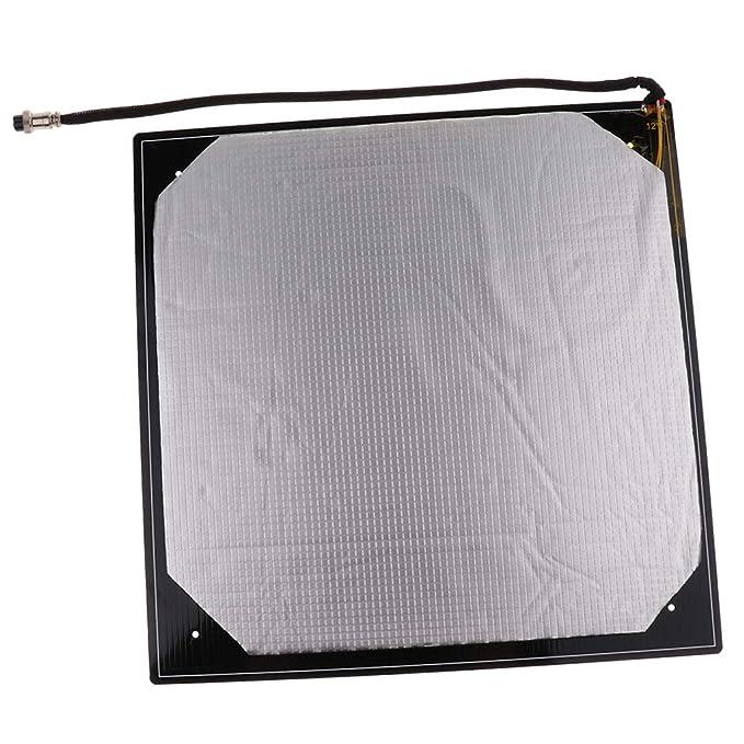 perfk - Placa de Aluminio para Impresora CR10 S4 3D, 400 x 400 mm ...