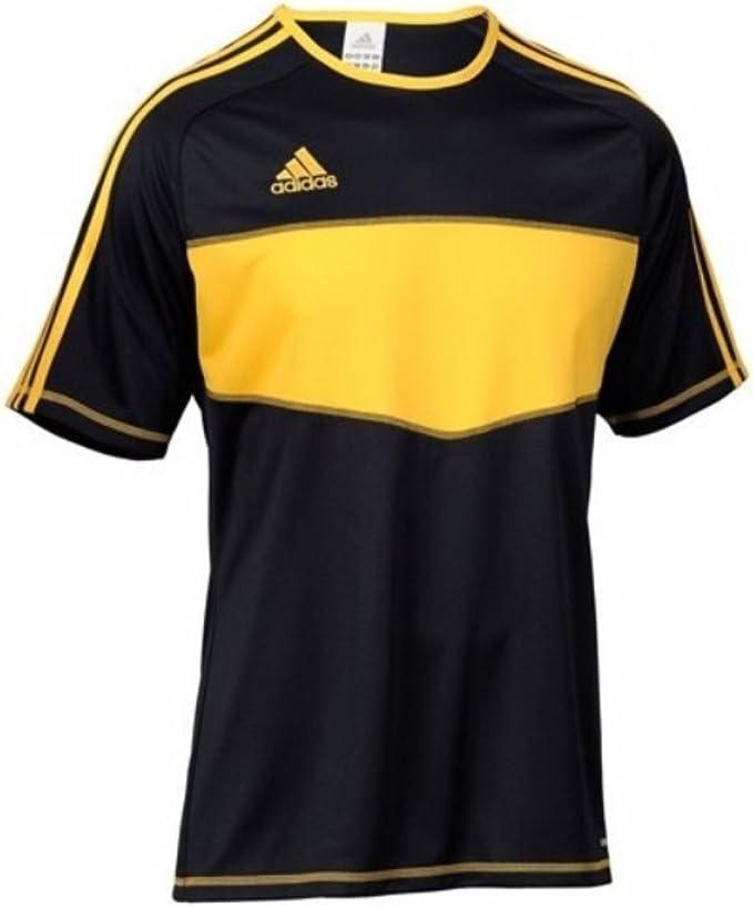 adidas Entrada, Camiseta, Negra-Amarilla, Talla 2XL: Amazon.es: Deportes y aire libre