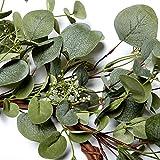 VGIA Green Leaf Eucalyptus Wreath for Festival