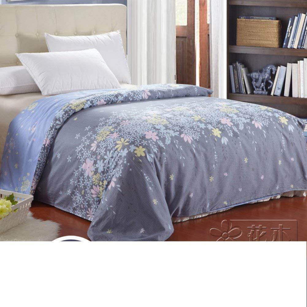 Yunyilian ベッドの裏地の綿のキルトカバーシングルピースカバー、シングルダブルベッドの項目 (Color : 200x230cm(79x91inch), サイズ : I) B07T7TBGNQ 200x230cm(79x91inch) I