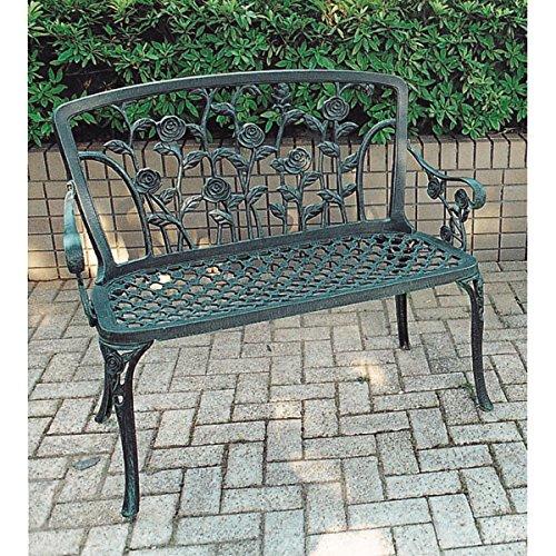 ヘミングウェイラブチェア(ガーデン用イス)[アルミ鋳物] ノーブランド品 B07BBWGJ1Q