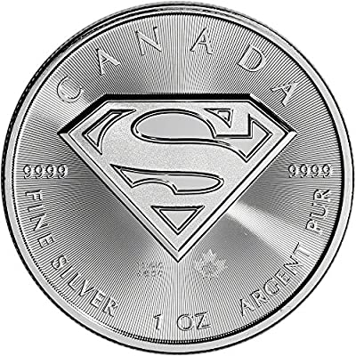 2016 CA Canada Silver Superman (1 oz) $5 Brilliant Uncirculated Royal Canadian Mint