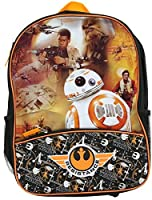 """Star Wars 16"""" Backpack Resistance The Force Awakens Episode 7 BB8 Chewbacca"""