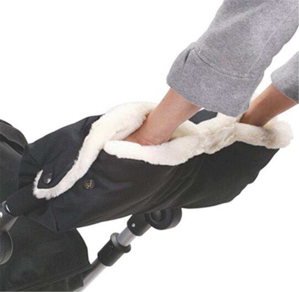HENGSONG Outdoor Winter Waterproof Baby Stroller Glove Anti-freeze Muff Hand Protector Mitts