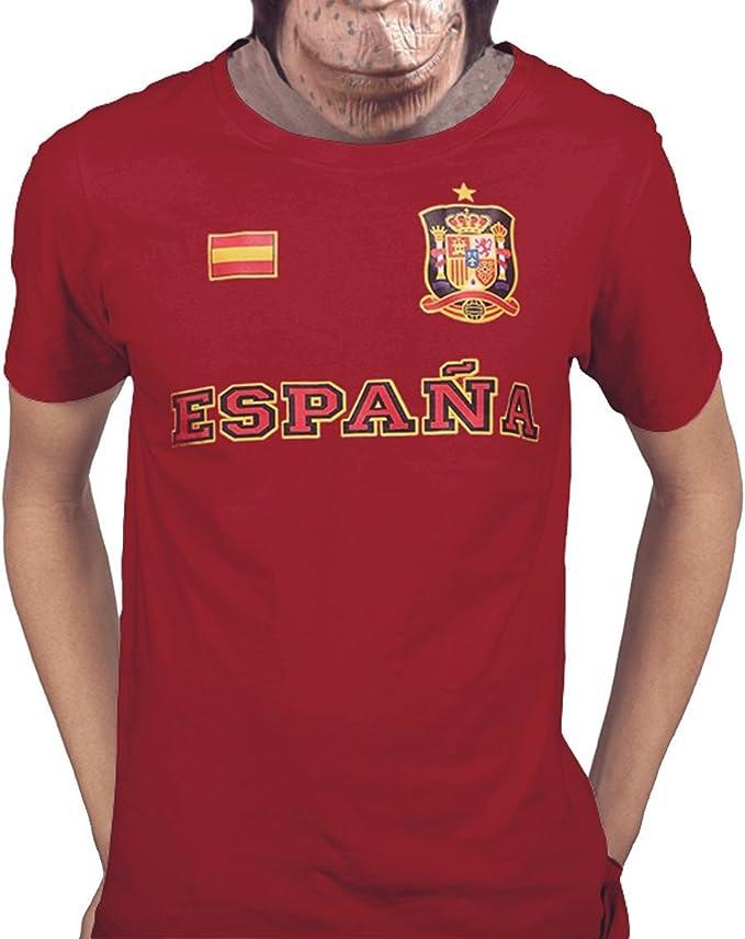 Acokaia Camiseta España Mundial 2018: Amazon.es: Ropa y accesorios