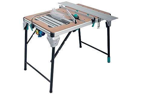 Banco Da Lavoro Per Troncatrice : Wolfcraft  master cut tavolo per troncatrice di