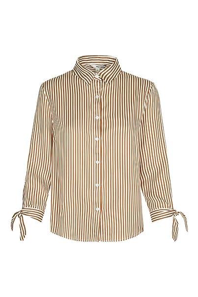 40b9a191950c Tally Weijl Gestreiftes Hemd  Amazon.de  Bekleidung