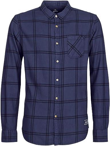 RIP CURL Check It LS Shirt Camisa, Hombre: Amazon.es: Ropa y ...