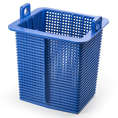 (Aquatix Pro Hayward Pump Basket (SPX1600M) Professional Grade Compatible Replacement Strainer Basket with Handles for Hayward Super Pumps, Heavy Duty, Durable, 6