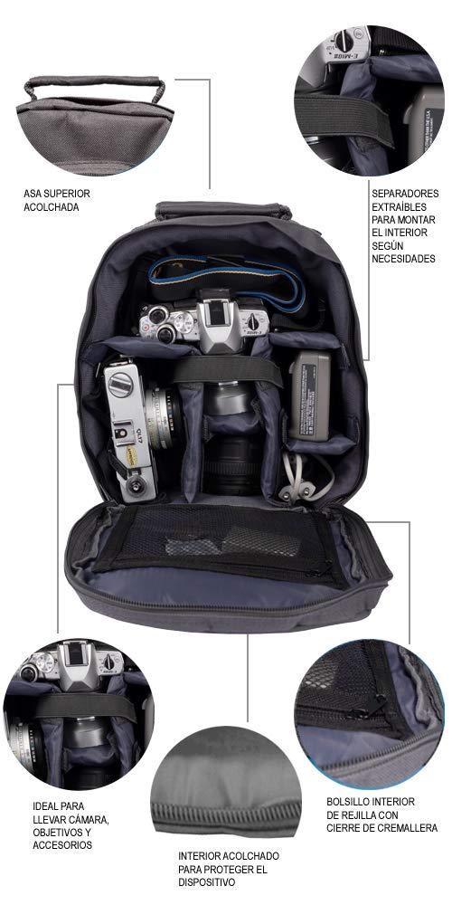 Smile Smart - Mochila Ideal para Llevar Accesorios de fotografía ...