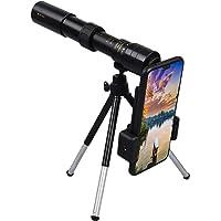 4K 10-300x40mm Super Telephoto Zoom Monocular Telescope Waterproof Night Vision High Definition Monocular for Bird…
