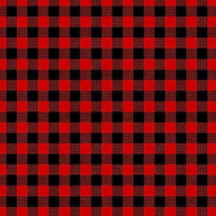 Amazon 40 X 40 Buffalo Plaid HTV Red Black Check Printed Heat Adorable Check Pattern