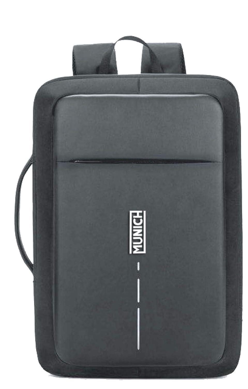 Munich Tech/Business Mochila Tipo Casual, 44 cm, 23 litros, Negro: Amazon.es: Equipaje