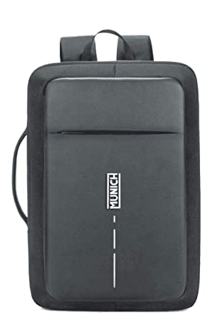 Munich Tech/Business Mochila Tipo Casual, 44 cm, 23 litros, Negro: Amazon.es: Equipaje