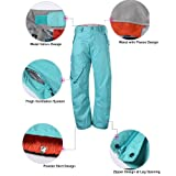 GSOU SNOW Women's Insulated Snow Pants Windproof