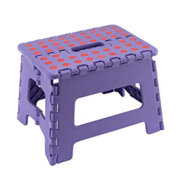 Marvelous Jms Small Plastic Step Stool Folding Multi Purpose Heavy Duty Made In Uk Purple Small Stool Ocoug Best Dining Table And Chair Ideas Images Ocougorg