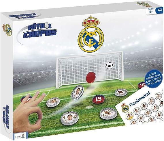 Eleven Force Fútbol Chapas Real Madrid (13057): Amazon.es ...