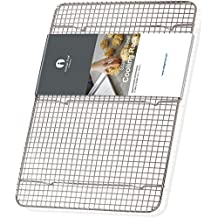 """Cooling Rack Stainless Steel Half size - Commercial Grade Steel 11.5"""" x 16.5"""" 