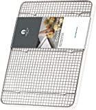 stainless bread pan large - Cooling Rack Stainless Steel Half size - Commercial Grade Steel 11.5