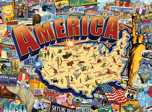 Buffalo Games - Signature Collection - Vintage America - 1000 Piece Jigsaw Puzzle