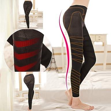 6de5ae2a107 Alalaso Sculpting Sleep Leg Shaper Pants Legging Socks Women Body Shaper  Footsteps Hot (Black