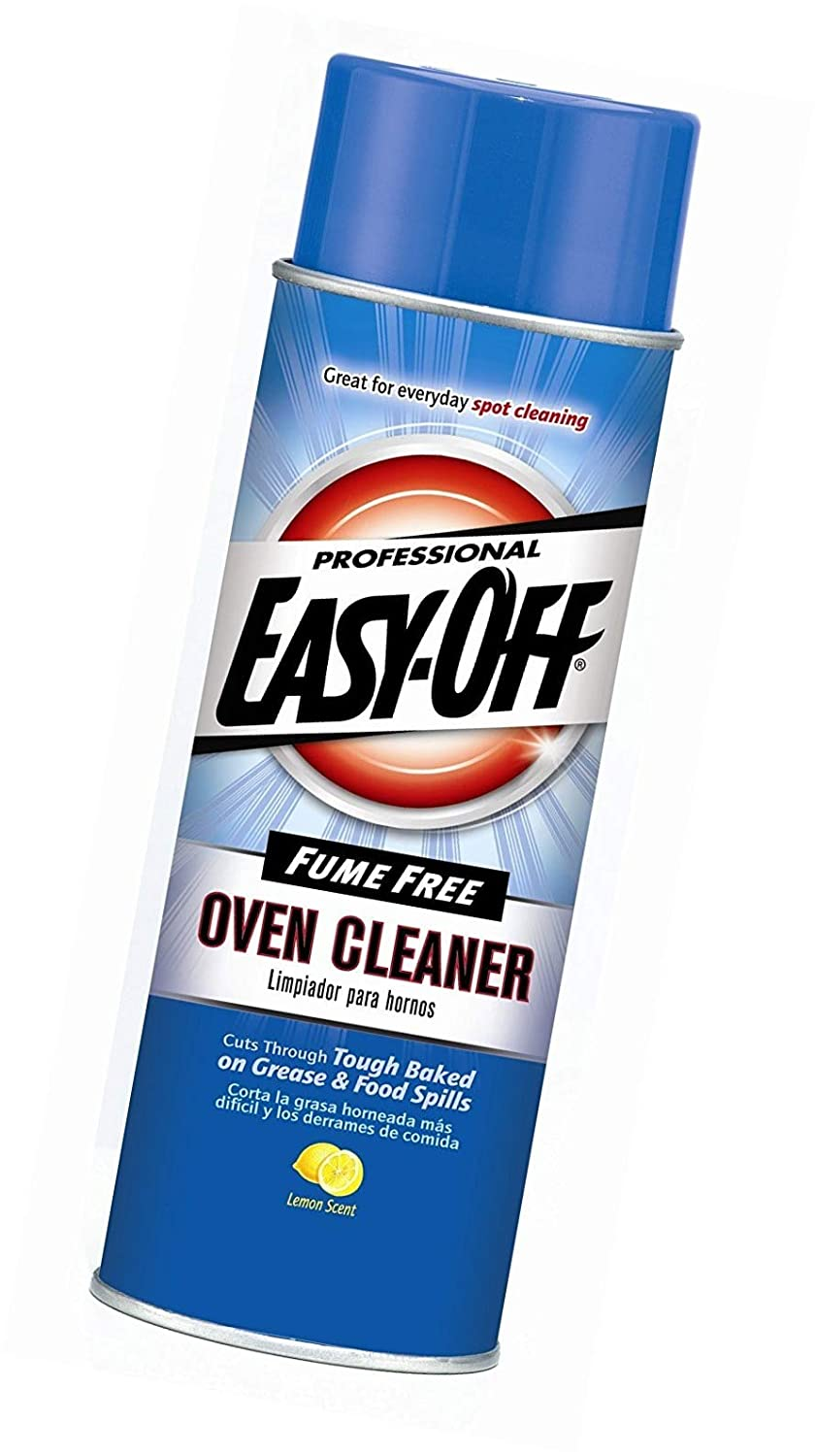 Easy-Off Professional Fume Free Max Oven Cleaner, Lemon 24 Ounce, New Version