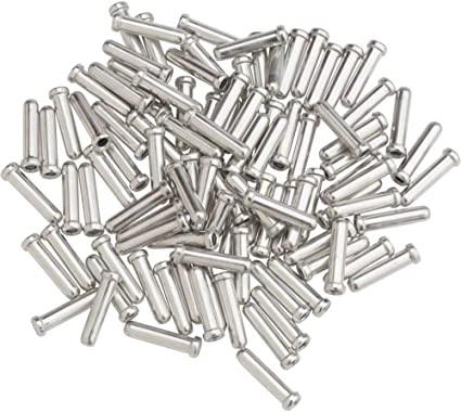 Pack of 10 Shimano Shift Inner Caps Bicycle Derailleur Cable End Crimps 1.2mm