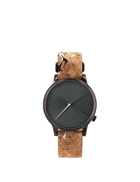 Komono Mujer Watches/Relojes Estelle cork black/white Talla única