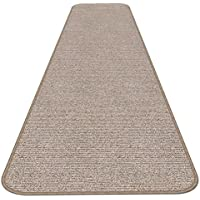 House, Home and More Skid-resistant Carpet Runner - Pebble Beige - 14 Ft. X 27 In. - Many Other Sizes to Choose From