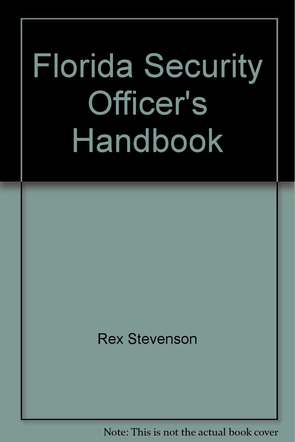 florida security officer training manual