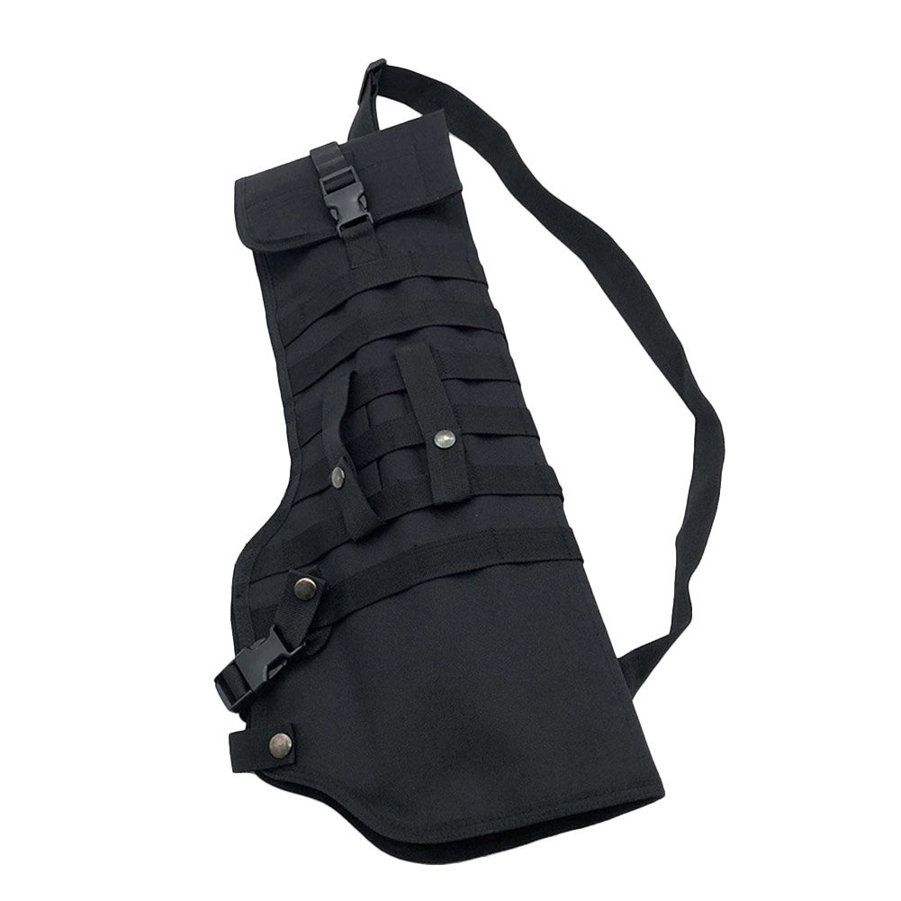 Qjoy Hunting Scabbard Protective Cover Shoulder Carry Sling Bag Shooting Tool Holster Case for Outdoor