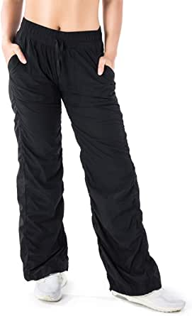"Yogipace Women's 28""/30""/32""/34"" Lightweight Wrinkle Resistant Travel Pants"