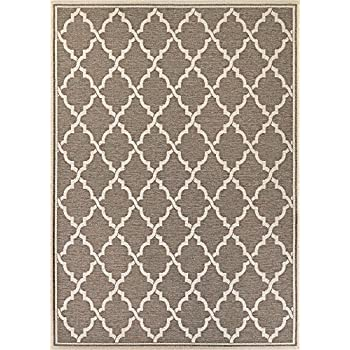 this item couristan monaco collection ocean port rug taupesand 9 by 12feet - Couristan Rugs